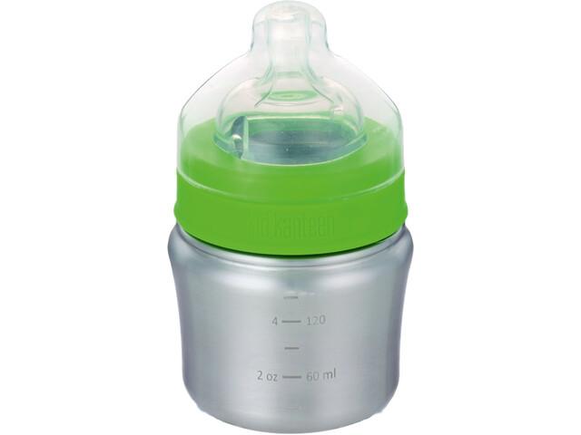 Klean Kanteen Butelka dla dzieci 148 ml slow drinking flow, brushed stainless